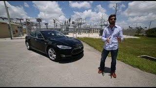 Prueba Tesla Model S 2014 (Español)