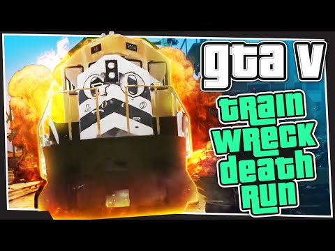 GTA 5 Online - Train Wreck Death Run (GTA V Custom Games)