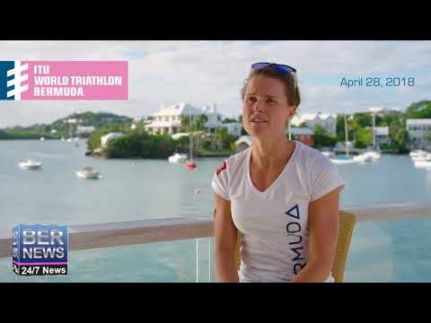 Flora Duffy On April's ITU World Triathlon Bermuda, Jan 18 2018