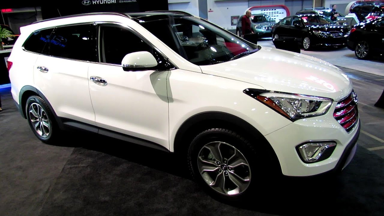 2013 hyundai santa fe xl awd luxury exterior and interior walkaround 2013 ottawa auto show. Black Bedroom Furniture Sets. Home Design Ideas