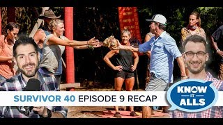 Survivor 40 Know-It-Alls | Winners at War Episode 9 Recap
