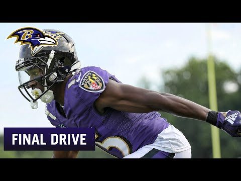 Hollywood Brown's Speed Is Immediately Evident   Ravens Final Drive