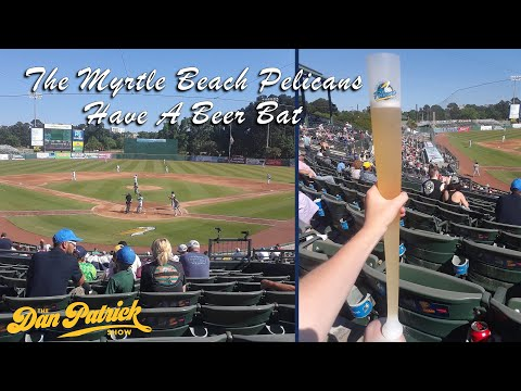Look In: The Myrtle Beach Pelicans Have Gone Next Level With A Beer Bat! | 05/17/21
