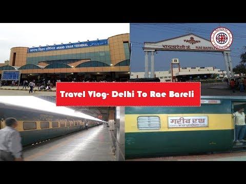 New Delhi to Rae Barely travel vlog 1 🤗😊