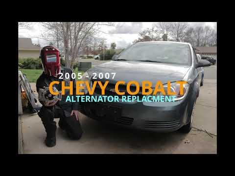 2005 2007 Chevy Cobalt Pontiac G5 Alternator Replacement