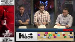 Kentucky Derby Post Draw Analysis 2017