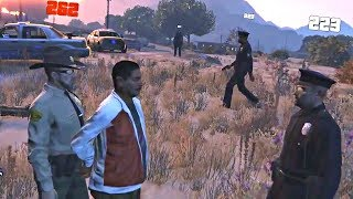 Stalking & Impersonating Cops Leads To Hot Pursuit (GTA RP)