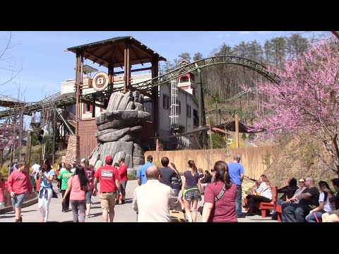 Dollywood Full Walkthrough 2016 Pigeon Forge, Tennessee