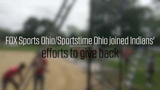 FOX Sports Ohio and Sportstime Ohio team up with Indians for community service