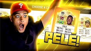 PELE IN A FUTDRAFT OMFG!! FIFA 16