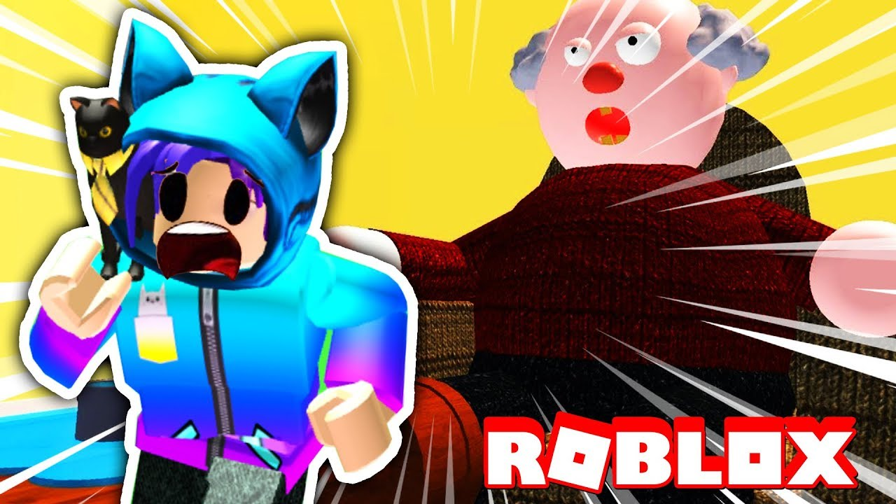 Escape Evil Grandma S House In Roblox Youtube - Escaping My Evil Grandpa S House In Roblox Youtube