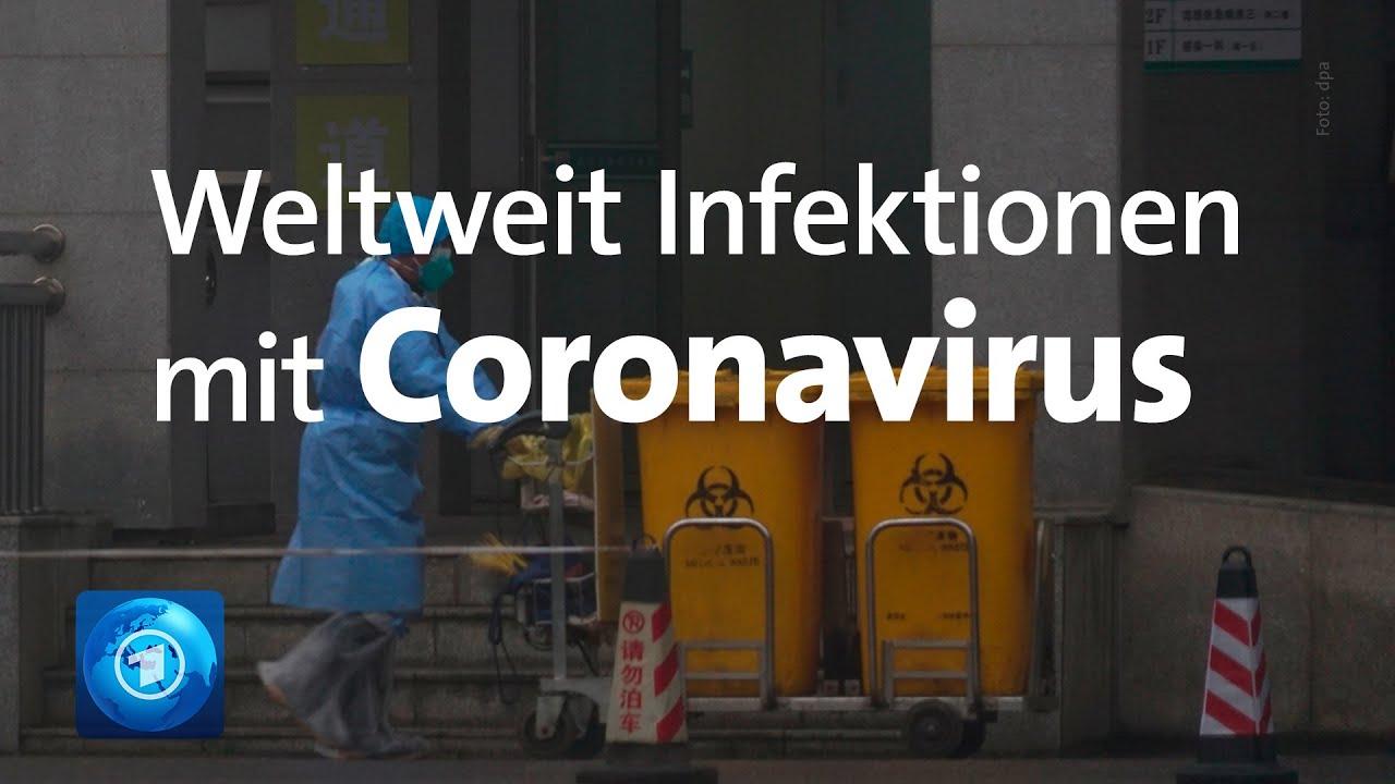WHO-Krisentreffen wegen Coronavirus aus China - YouTube