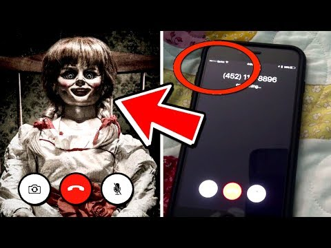 What Happens When You FaceTime Annabelle? (Evil CreepyPasta 2017)