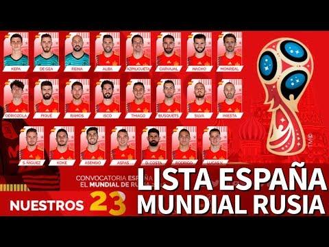 En directoI Lista de España para el Mundial de Rusia| Diario As