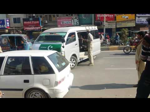 Pakistan army in action