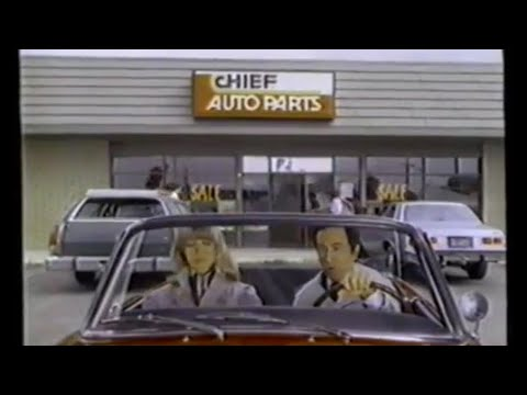 Adams Auto Parts >> 1982 Chief Auto Parts Get Smart Don Adams Tv Commercial