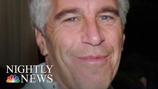 One of the first lawsuits filed against jeffrey epstein's estate   nbc nightly news