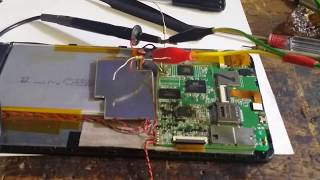 Попытка ремонта № 2 DEXP URSUS NS170