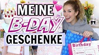 Ich zeige euch meine Geburtstagsgeschenke ♡ BarbaraSofie