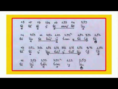 Phụng Hoàng SK hò nhứt GUITAR - Ký Âm - (TẬP 1)