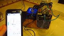 Bitmain Antminer S5 Noise Level Vs. Kitchen Sink - Decibel (dB) Meter - Bitcoin Mining