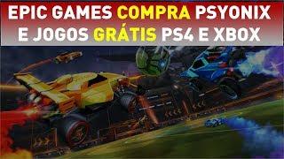 Epic Games COMPRA a Psyonix, Jogos grátis para PS Plus e Xbox Live e Immortals compra a Gamers Club