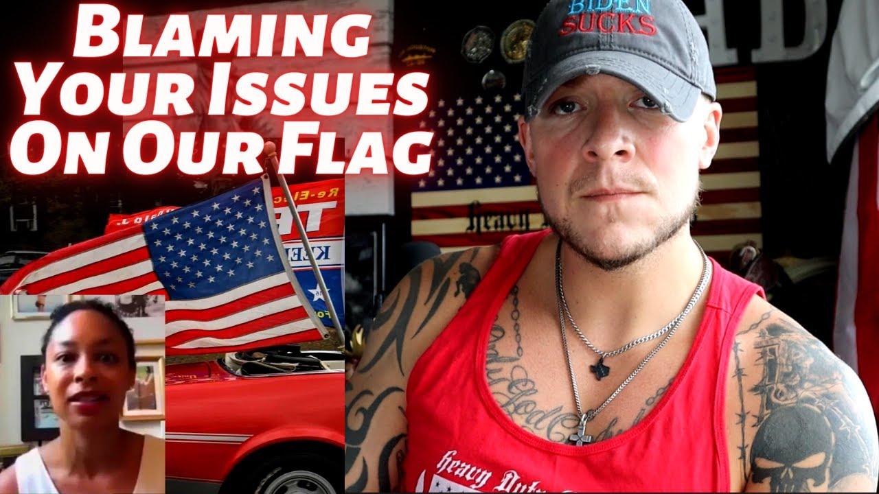 "MSNBC Mara Gay: ""Seeing The American Flag is Disturbing"""
