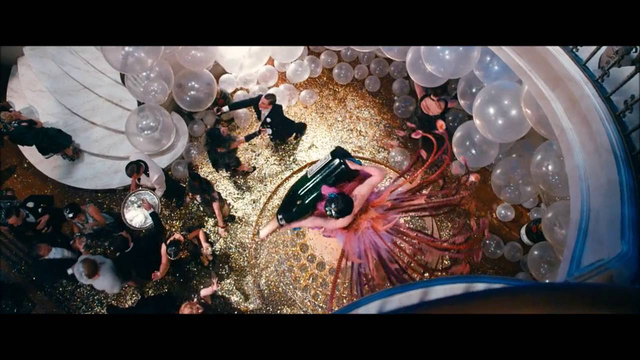 The Great Gatsby Party Scene