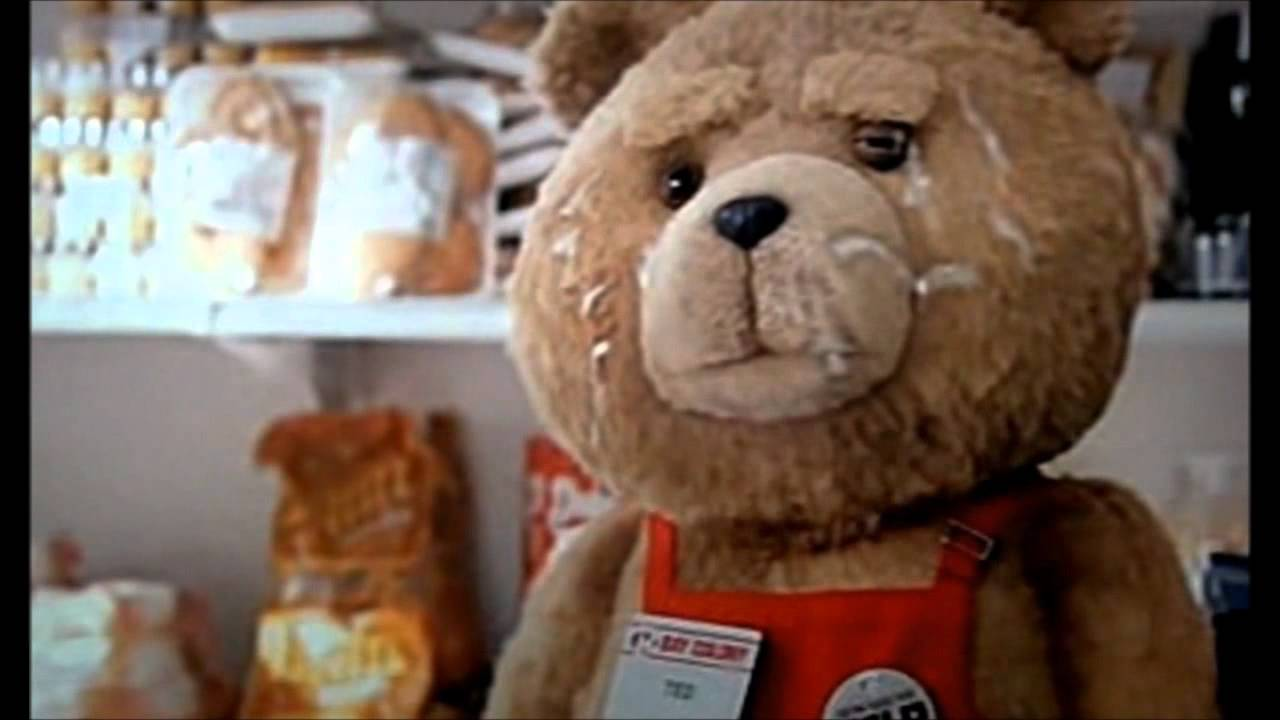 the best parts of ted movie - youtube