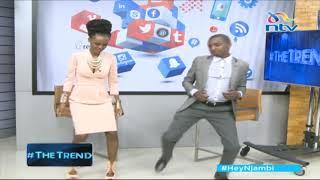 MC NJAGI SHOWS NJAMBI HOW TO DANCE YALIO NDWELE SIPITE