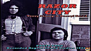 TERRY STAMP & DARRYL READ - Razor City, Demo, 1972, THIRD WORLD WAR, CRUSHED BUTLER, U.K Proto Punk