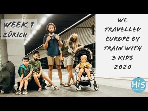 Travel in 2020, Interrail, Eurail with kids, Zurich, Manor Farm Switzerland