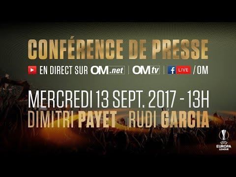 La conférence de presse de Dimitri Payet & Rudi Garcia | OM - Konyaspor🎙