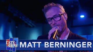 "Matt Berninger ""One More Second"""
