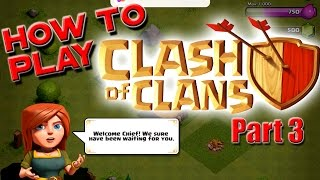 How to Play Clash of Clans - Beginner's Guide - TH3 Upgrade List & Base thumbnail