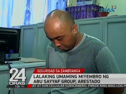 24 Oras Exclusive: Lalaking umaming miyembro ng Abu Sayyaf Group, arestado