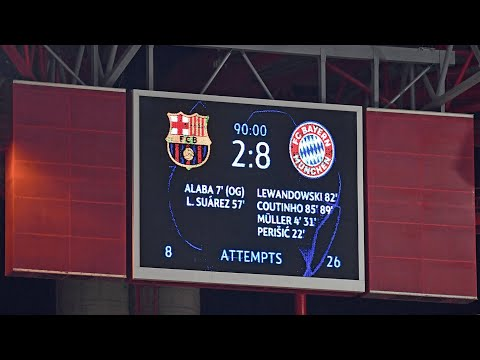 Barcelona Bayern Munich Goals And Highlights