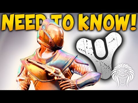 Destiny 2: THINGS BEGINNERS NEED TO KNOW! Best Class, Weapon Changes & Tips