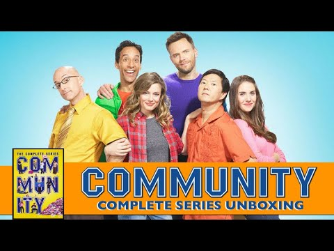 COMMUNITY The Complete Series DVD Unboxing!