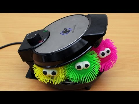 Thumbnail: EXPERIMENT WAFFLE IRON vs SPIKE SLIME TOY