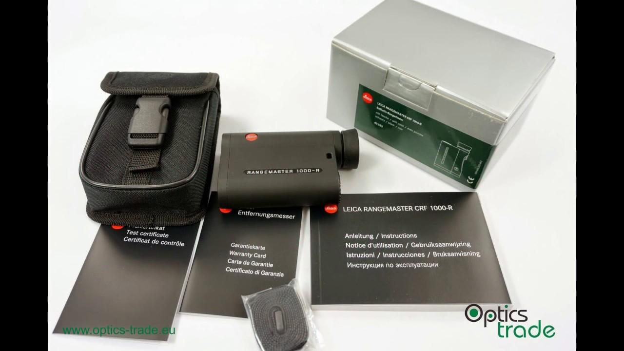 Leica Entfernungsmesser Crf : Leica rangemaster crf r rangefinder photo slideshow youtube