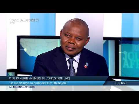 Vital Kamerhe, opposant congolais en entretien exclusif sur TV5MONDE