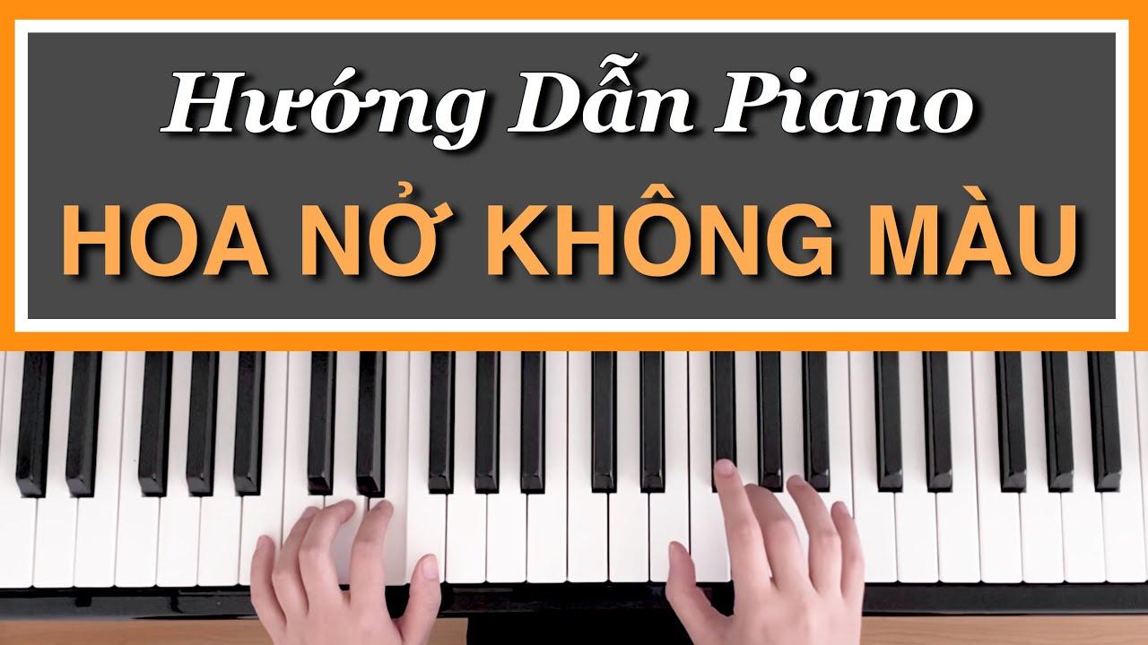 [Hướng Dẫn Piano] HOA NỞ KHÔNG MÀU | Hoài Lâm | Đệm Hát Cơ Bản #1 | Tất tần tật những thông tin liên quan tải bài hát yêu một người vô tâm chính xác nhất