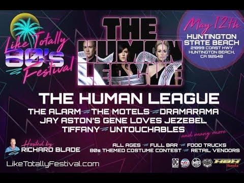 Human League concert - live - Like Totally 80's Festival - Huntington Beach CA - May 12, 2018