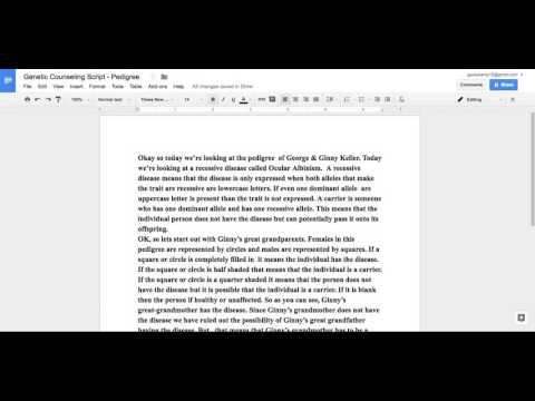 Genetic Counselor Case Study