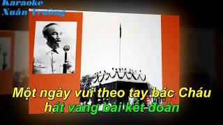 Karaoke Nhớ giọng nói Bác Hồ (rễ hát)