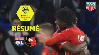 Olympique Lyonnais - Stade Rennais FC ( 0-1 ) - Résumé - (OL - SRFC) / 2019-20