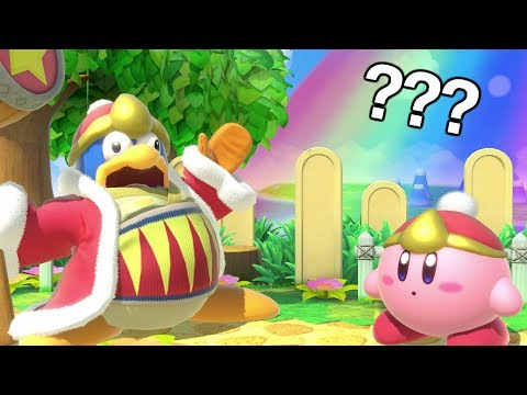 Can Kirby Do The King Dedede Face Glitch?