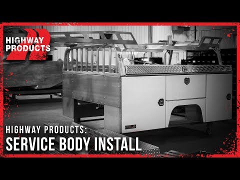 Highway Products | Service Body Install