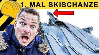 EXTREM STEIL! SKISCHANZE IM SELBSTVERSUCH! SKI WM 2020 | Zeppelin Rental ON THE JOB